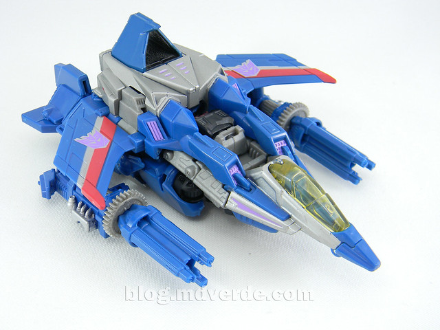 Transformers Thundercracker Deluxe - Generations - modo alterno