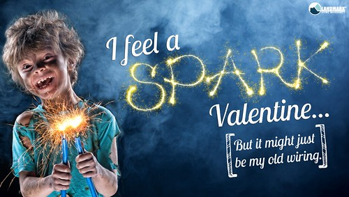 feel a spark Home Warranty Valentines