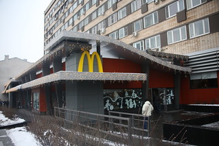 Russia's, First and busiest McDonald's