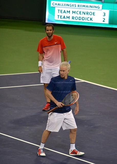 John McEnroe & Pete Sampras