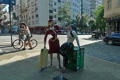 Buenos Aires - Belgrano sculpture