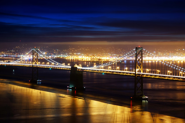 Bay Bridge Before Dawn 2