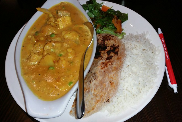 2016-Mar-9 Siddhartha's Indian Kitchen - Sabz Coconut Korma