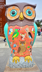 Birmingham, The Big Hoot Owls, Spotting And Jotting In Birmingham