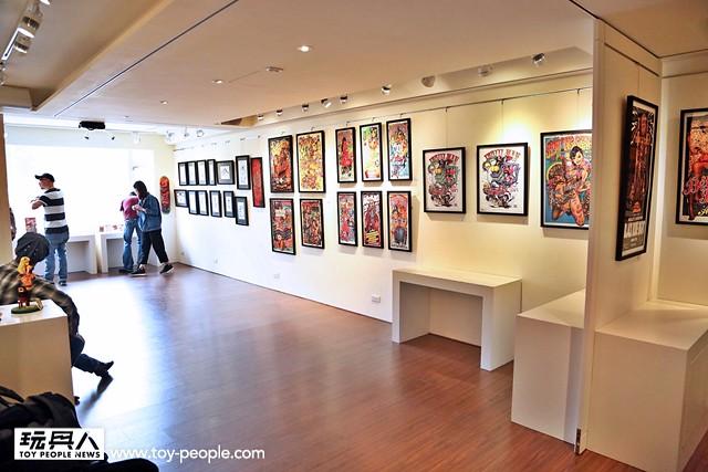 《靠邊走藝術空間》 – Rockin'Jelly Bean Taiwan POSTER ART SHOW 現場活動報導