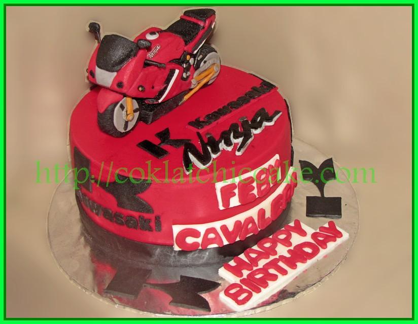 Cake Kawasaki Ninja