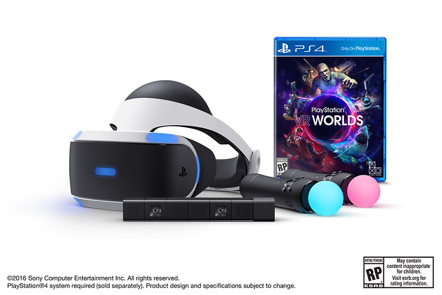 PlayStation VR Preorder Bundles Available Now