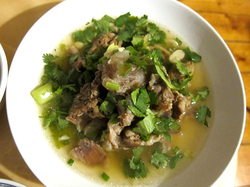 Hawaiian Oxtail Soup