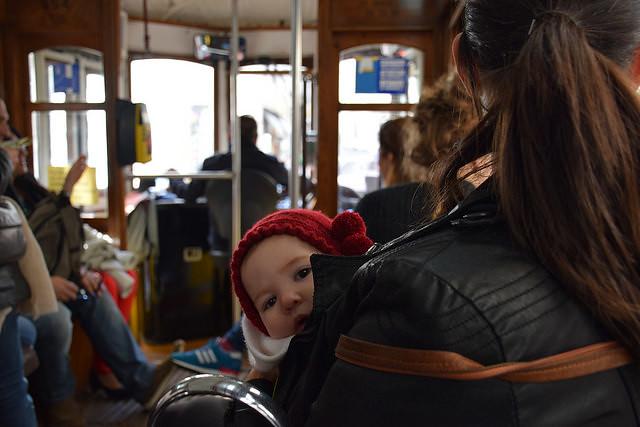 Tranvía. Segundo viaje a Lisboa.
