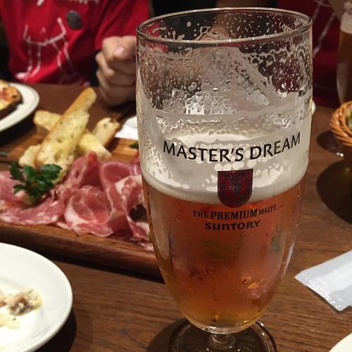 イベント大成功でビールが超美味しかった。