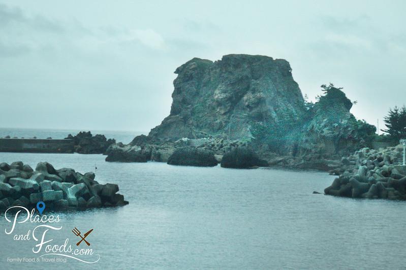 oga japan coastal rocks
