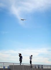 Flight path posing