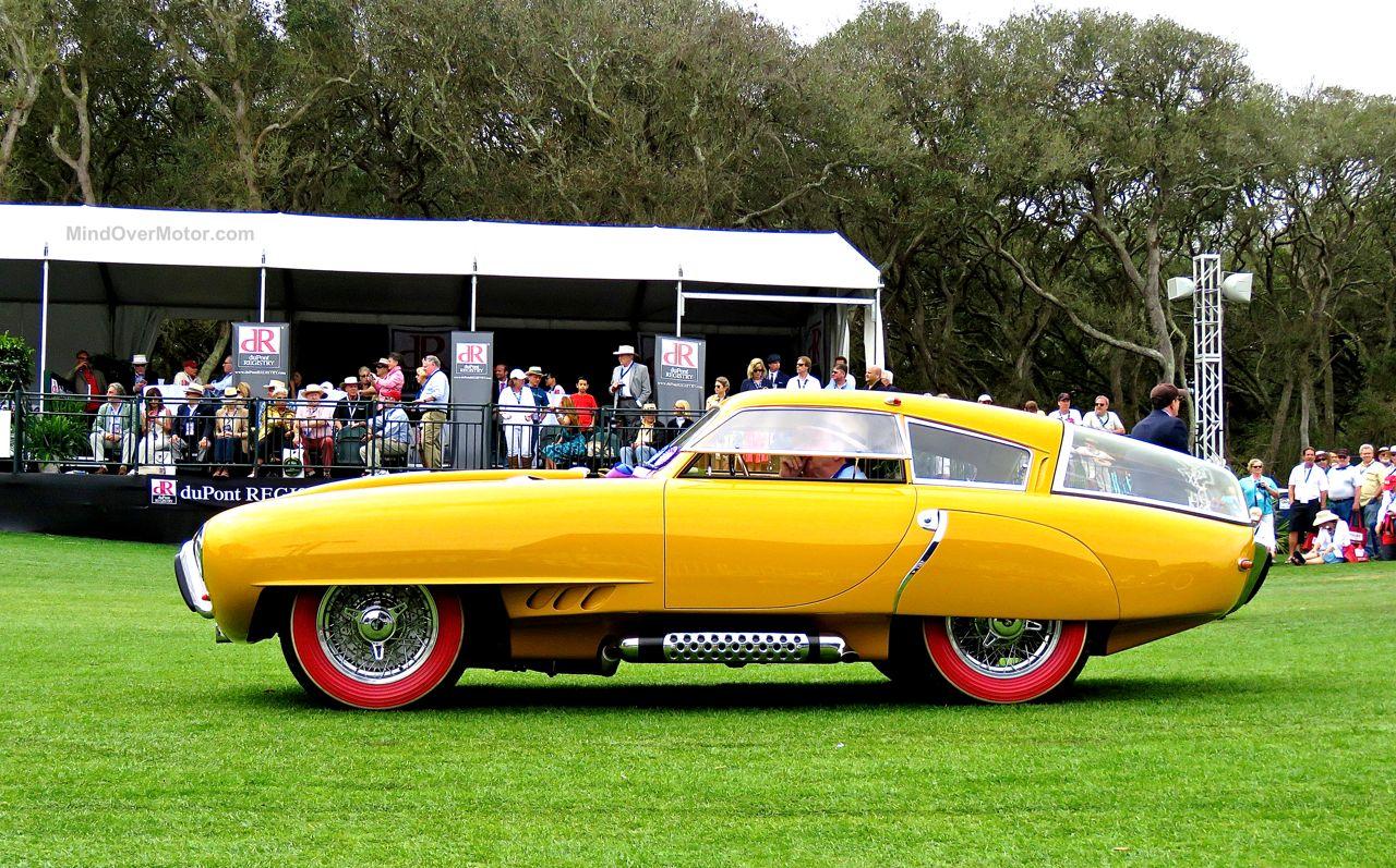 1952 Pegaso Z-102 Cupula Coupe Amelia Island 9