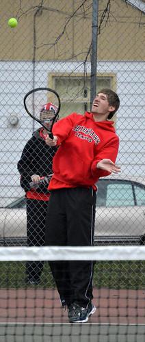 SPTS - Cheney tennis Brandon Foster 2 - 03312016