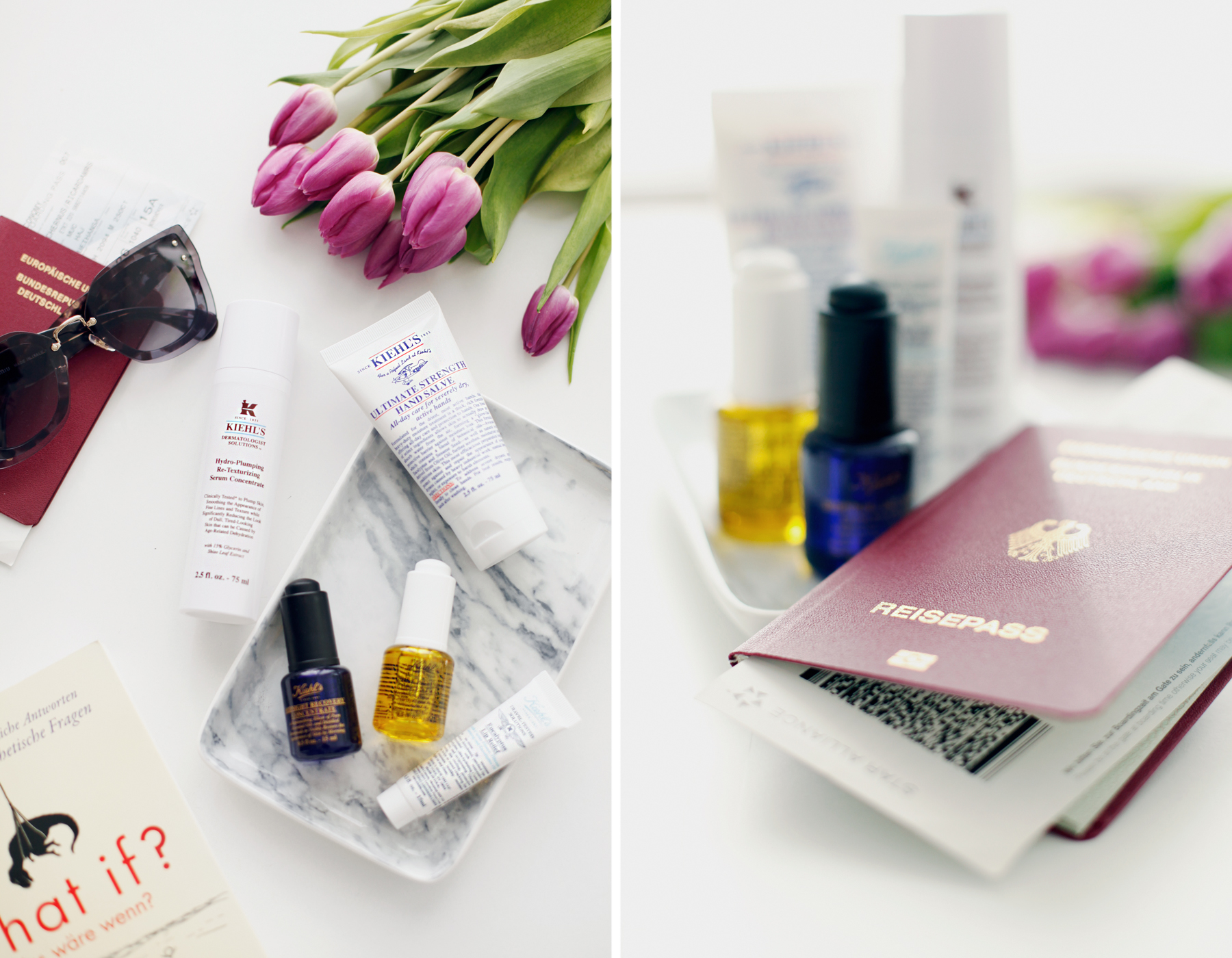 kiehl's travel essentials reise new york city world of kiehl's travelling miniature beauty beautyblogger handgepäck hand luggage sunglasses miu miu beauty tipps und tricks daily revival cats & dogs ricarda schernus beautyblogger düsseldorf 2