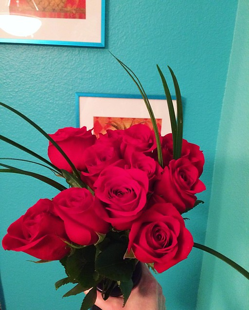 Roses from Joshy. 🌹