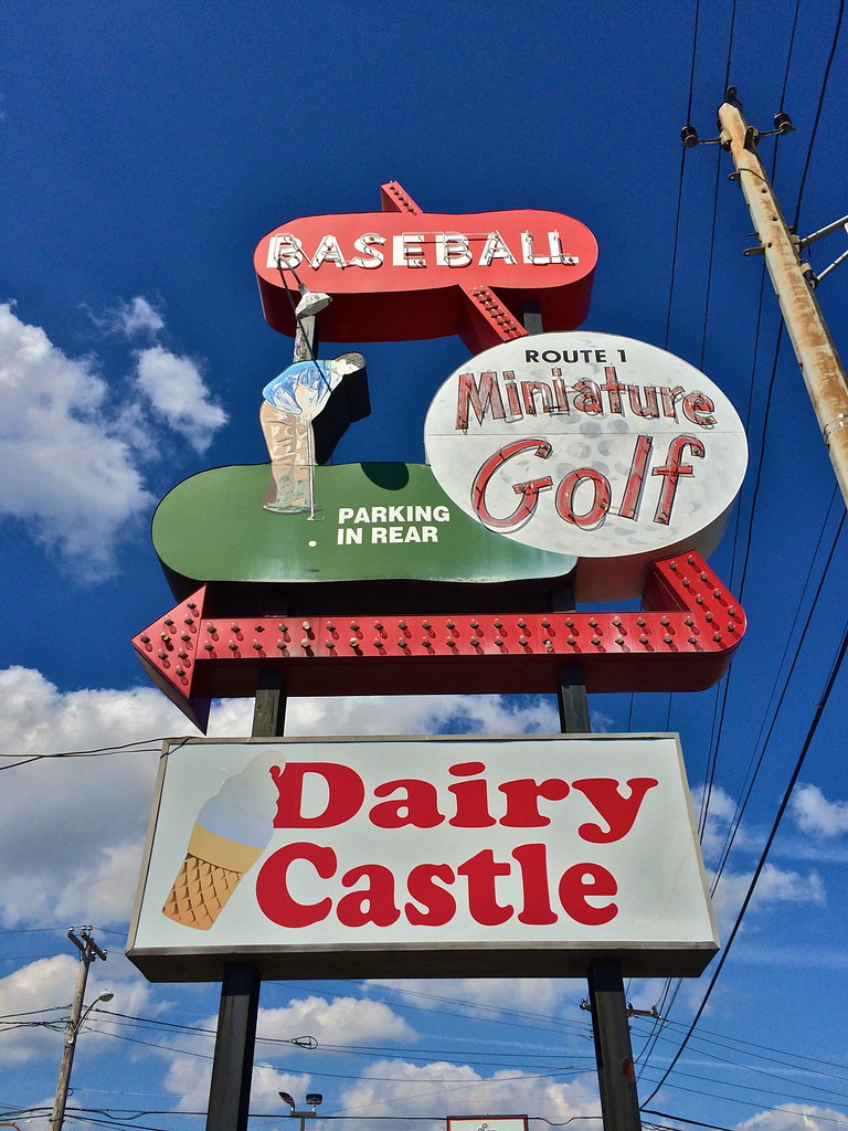 Mini Golf and Batting Cages Route 1 Saugus MA Retro Roadmap Roundup 2015