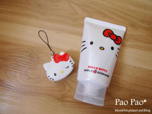 Hello Kitty 拒當黑貓貓蘋果去角質凝膠