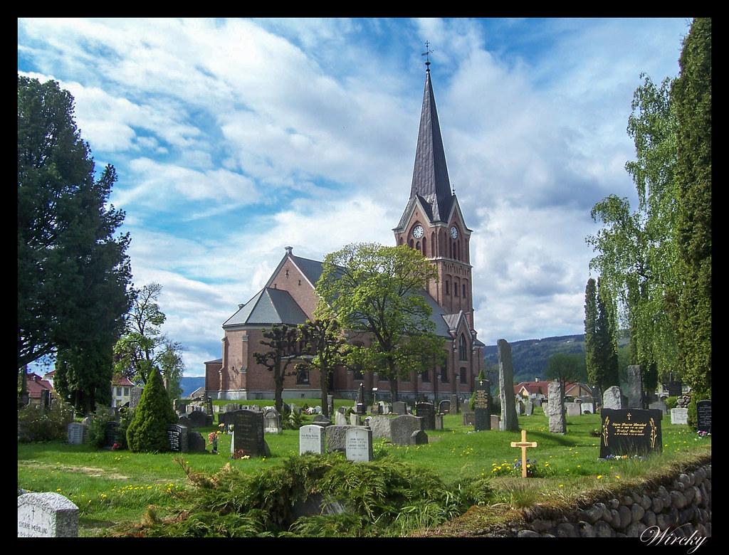 Ruta viaje fiordos noruegos - Iglesia Vigslet en Lillehammer