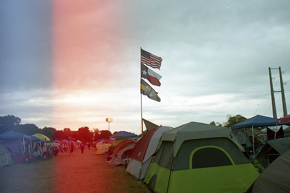 Flags-at-Campsite