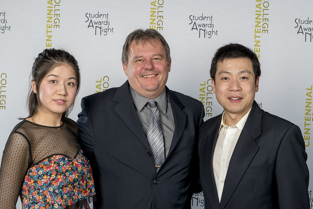 Pictures from the Centennial College Student Awards Night 2016