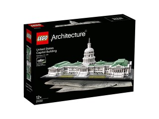 LEGO Architecture 21030 United States Capitol Building box