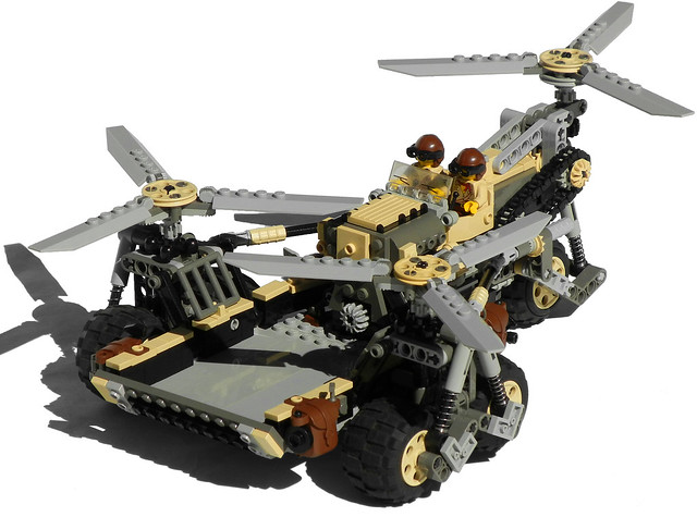 """Pegasus"" Diesel Cargo Helicopter Mk. XXVII (front)"