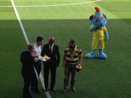 Homenaje Villarreal CF Abril 2016