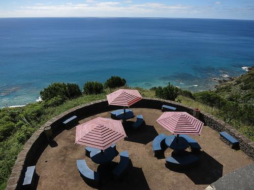 Picknick Platz oberhalb von Praia Formosa