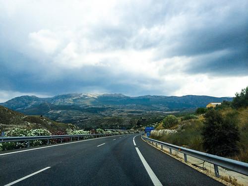 Mountains Outside of Pegalajar