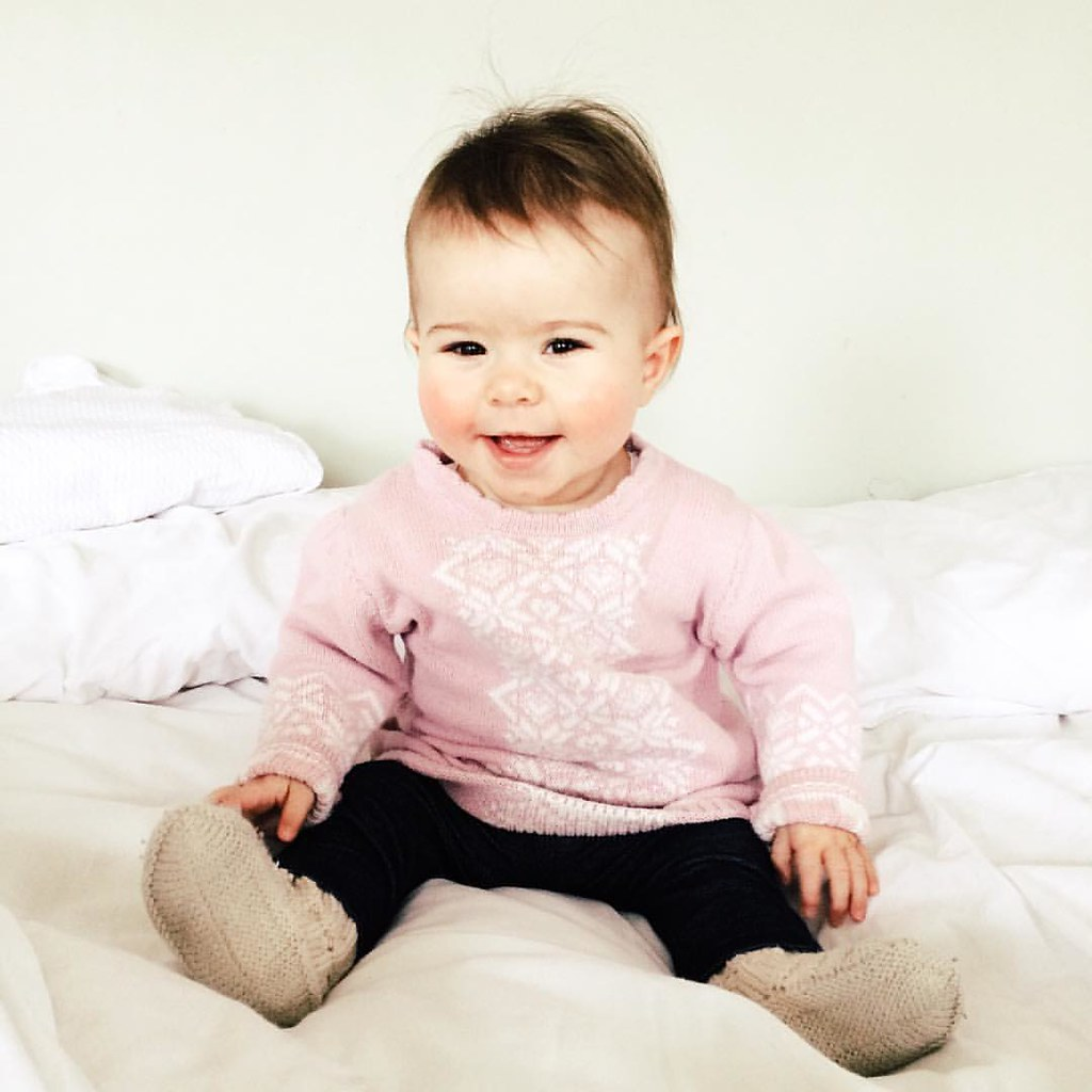 This little love nugget is 11 months old today! #elevenmonthsold #baby #babygirl #instasinclair #children
