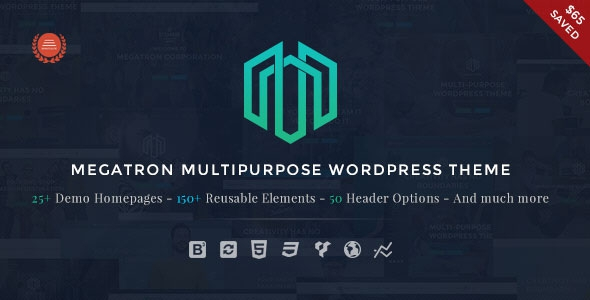 Megatron v2.4 - Responsive MultiPurpose WordPress Theme