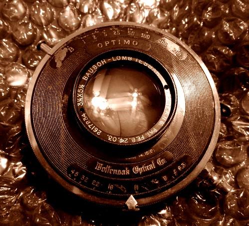 Kodak Autographic 3A Lens