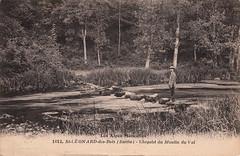 1612. St-Léonard-des-Bois (Sarthe) - Chapelet du Moulin du Val (c.1924)