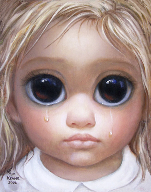 Big Eyes - Painting 3