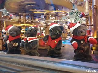 中環 置地廣場 central hongkong 熊 2015 CIRCLEG 聖誕裝飾 (2)