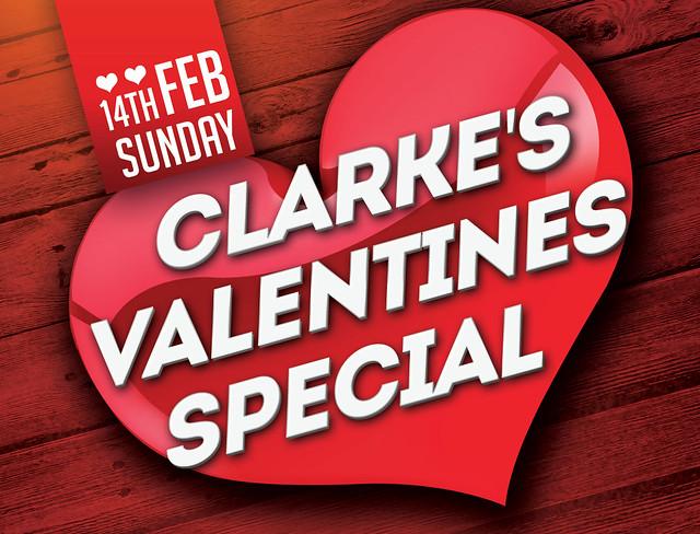 Clarke's Valentines Specials