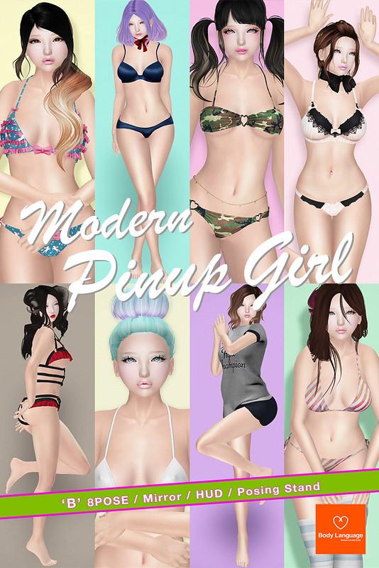SS POSE Modern Pinup Girl @ KUSTOM9