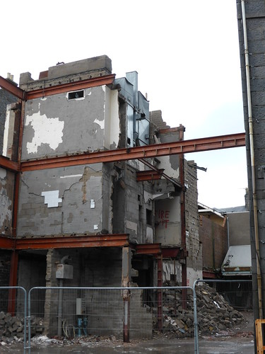 January 2016: Hotel development at the old Bruce Millers store on Union Street & Langstane Place, Aberdeen