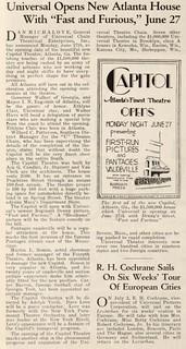 Capitol Theatre, Atlanta, Georgia 1927