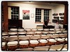 Lots of seats for tonight's Salon where I'm going to present some of my images from #themigrantsugarcane project #migrantsugarcaneworker #davidgoldmanphoto #photojournalist