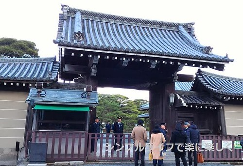 京都御所、入口
