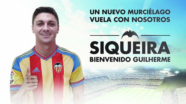 Fichajes: Guilherme Siqueira ficha por el Valencia CF