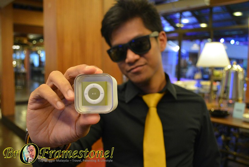 Uncle Zuan Menang iPod Shuffle