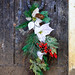 Wreath on Crypt Door