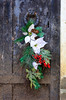 Wreath on Crypt Door