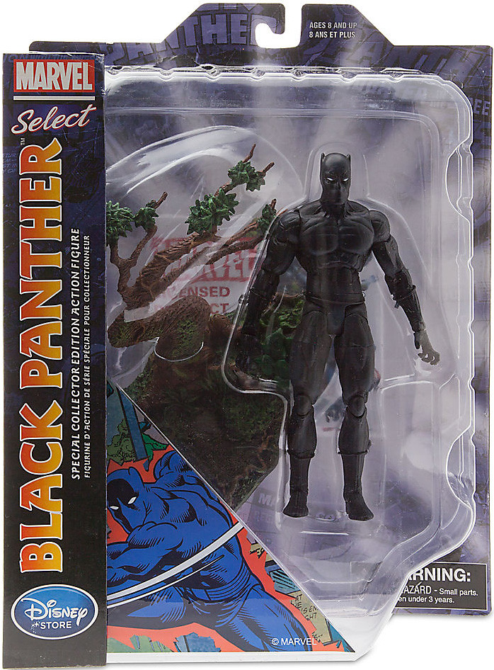 Marvel Select【黑豹】Black Panther 迪士尼商店限定