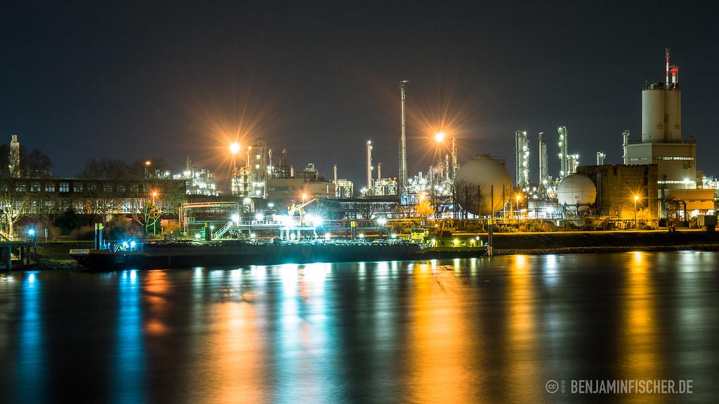 BASF (Badische Anilin und Sodafabrik AG): Mapa - Renania ...