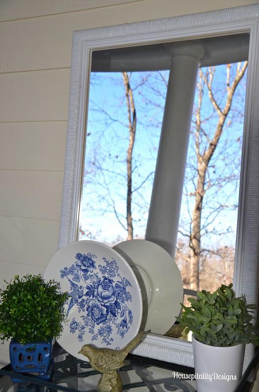 Tea Cart/Mirror - Housepitality Designs
