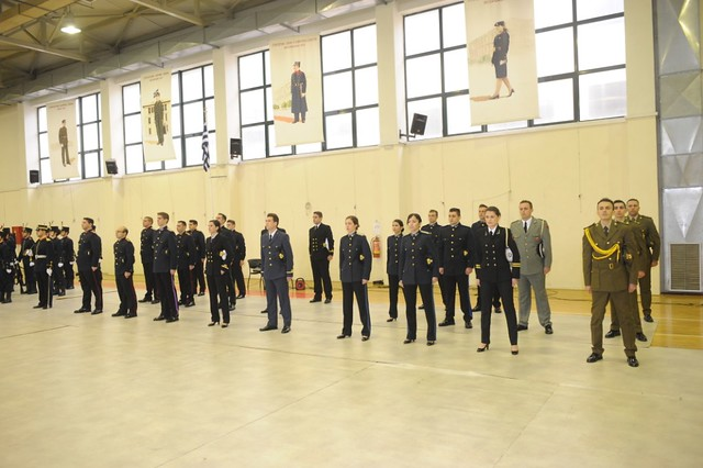 Ορκωμοσία Νέων Αξιωματικών ΣΣΑΣ